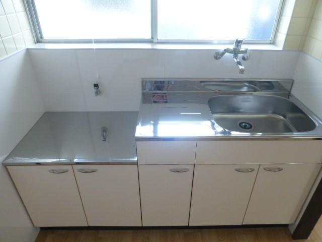 ワンハンドレバーなので洗い物や調理の時に便利です