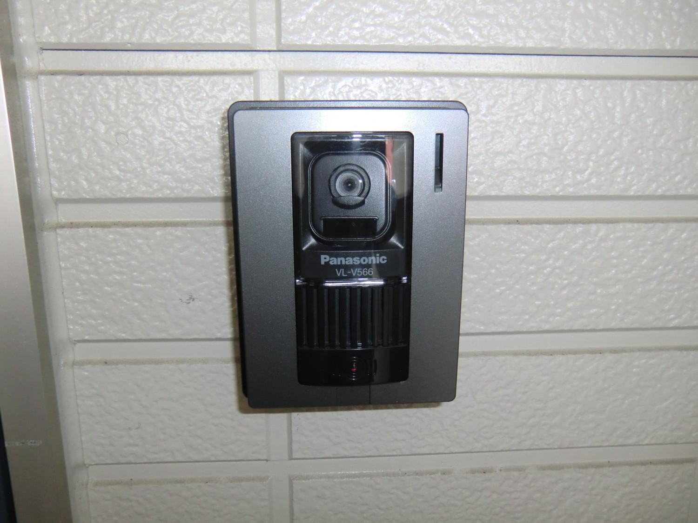 玄関モニターフォン