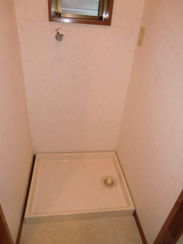 脱衣所 洗濯機置場です