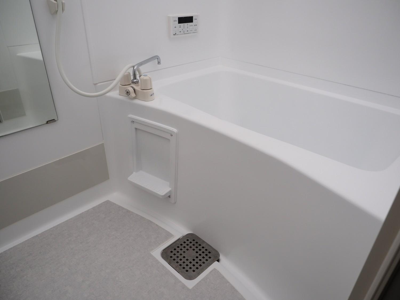追い焚き機能もあるので、いつでも温かいお風呂に入れますね♪