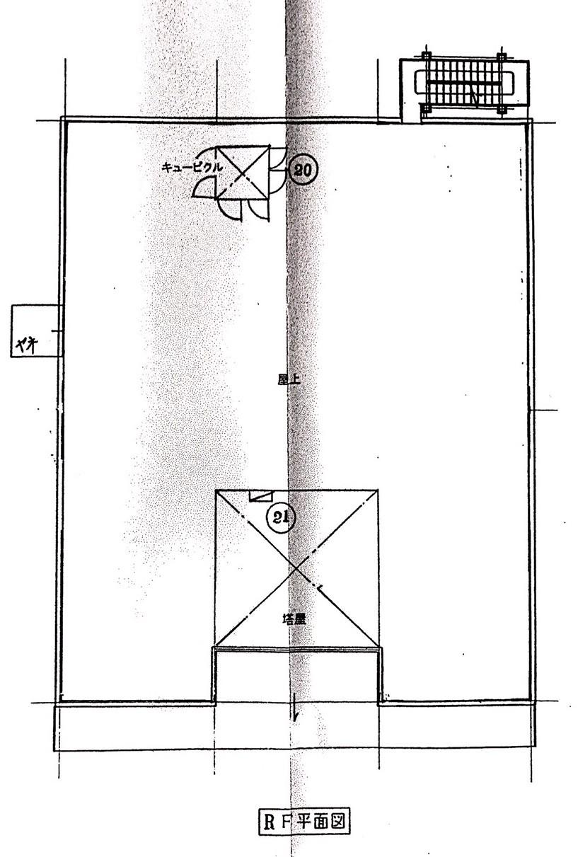 屋上平面図