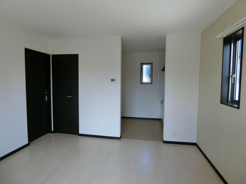 キッチン内が見えないので、お部屋がスッキリして見えます
