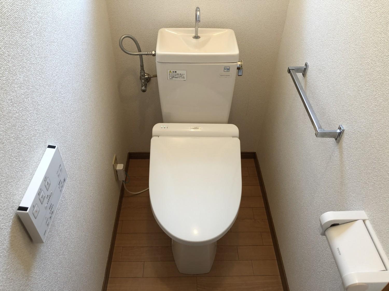 快適な温水洗浄便座