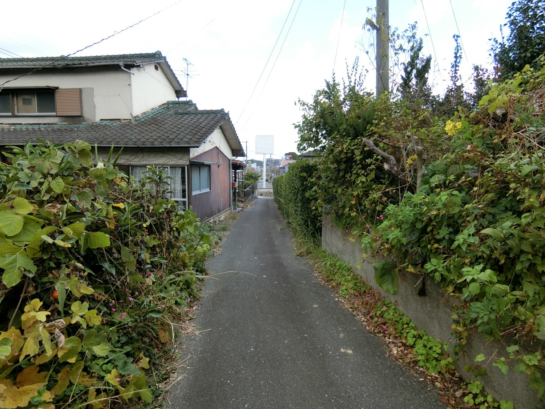 東側の私道部分・法外道路です。