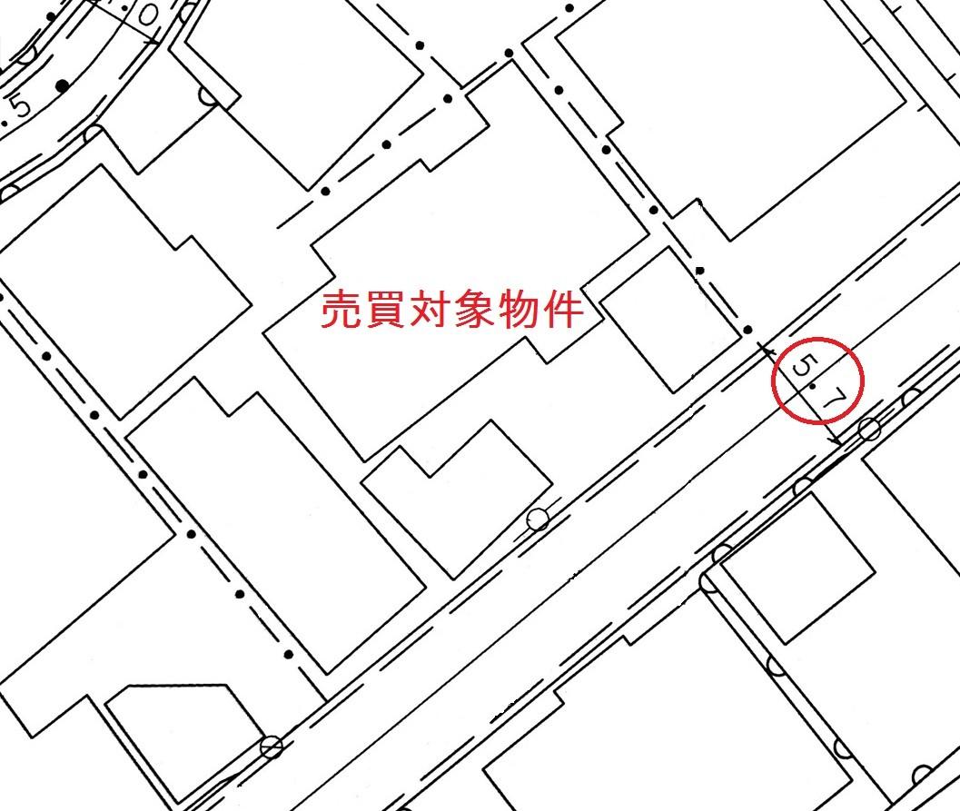 道路台帳平面図