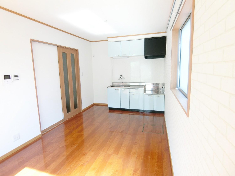 床下収納もあり、キッチンを広く使えるます