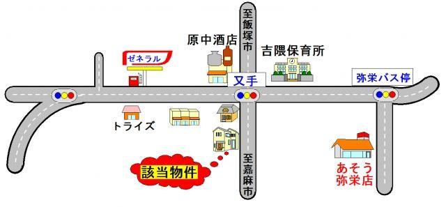 桂川駅までのアクセスも良好♪
