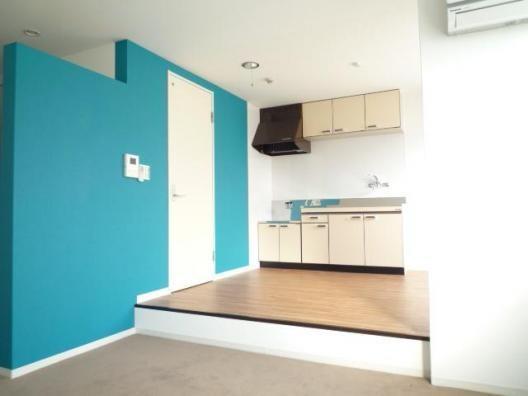 生活スペースとお部屋の空間が分けられますね♪