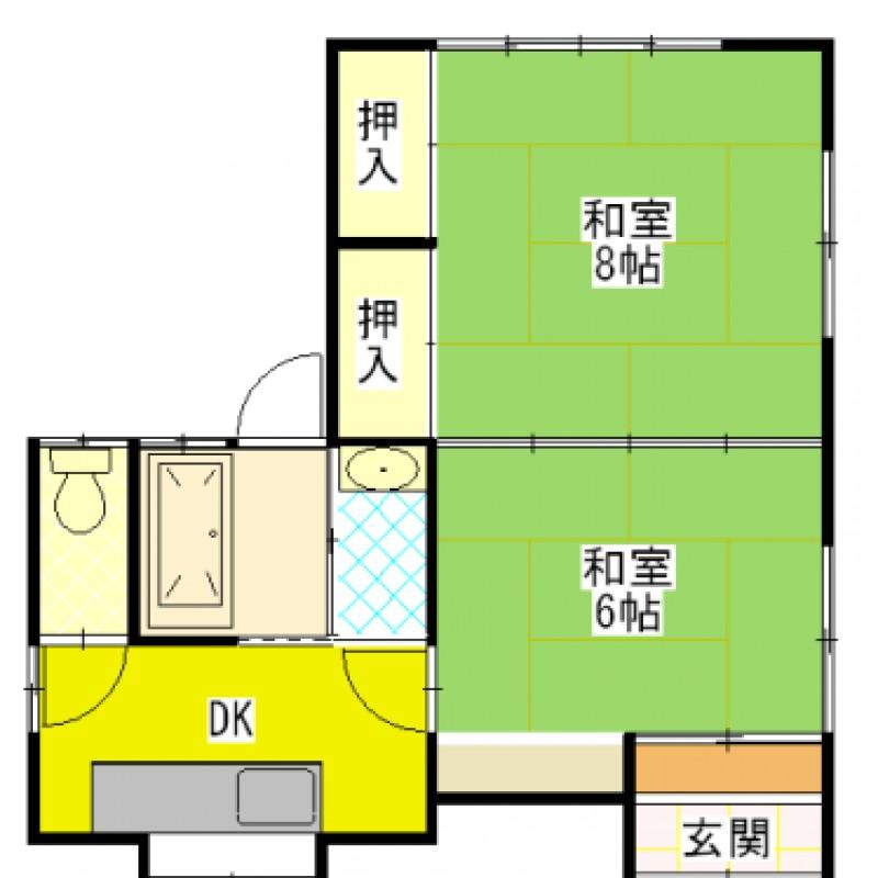独立キッチンで、お部屋が広く使えます。
