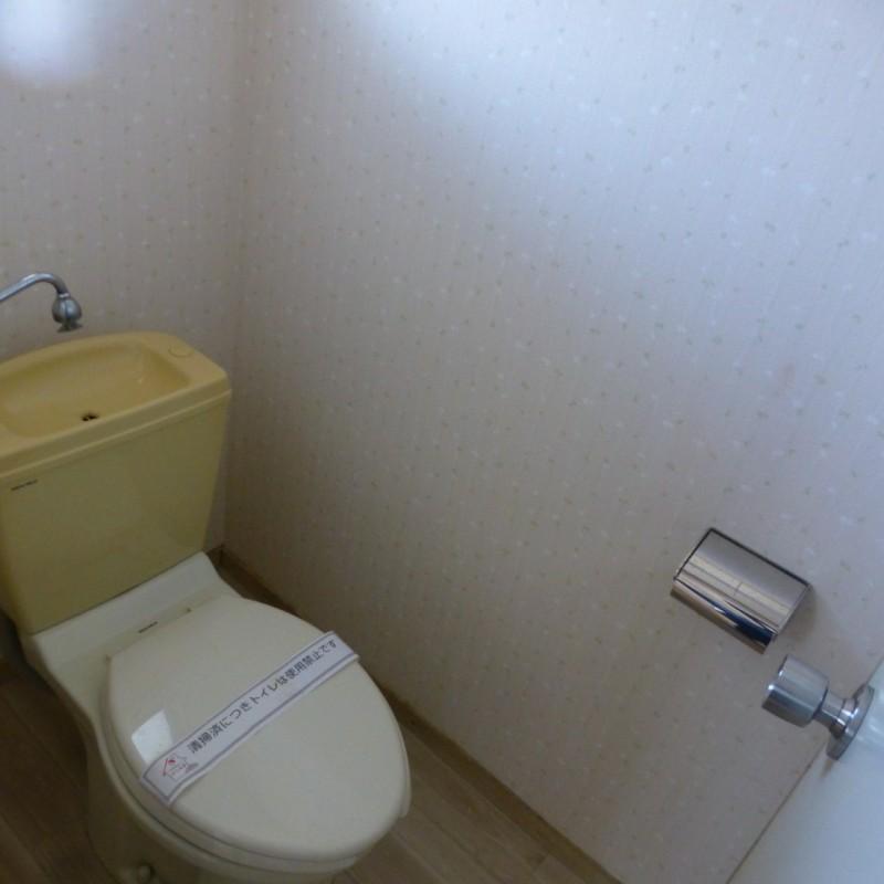 【お手洗い】簡易水洗トイレです
