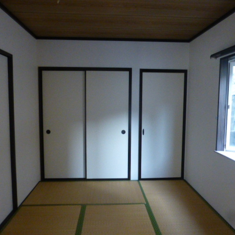 和室には収納があります