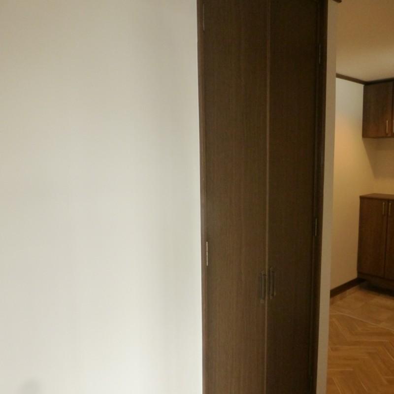 廊下の収納です