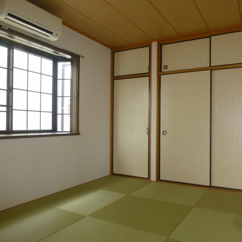 LDKに隣接した和室です