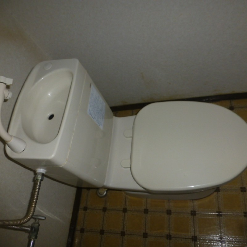 2階 簡易水洗トイレ