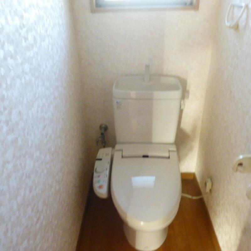 ☆設備も充実したトイレです☆