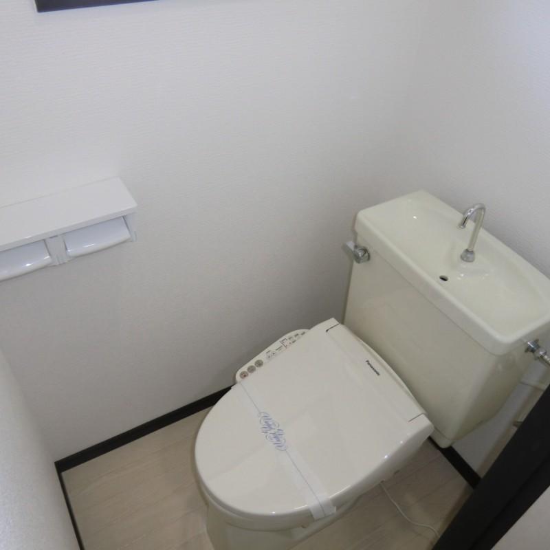 快適なウォシュレットトイレ