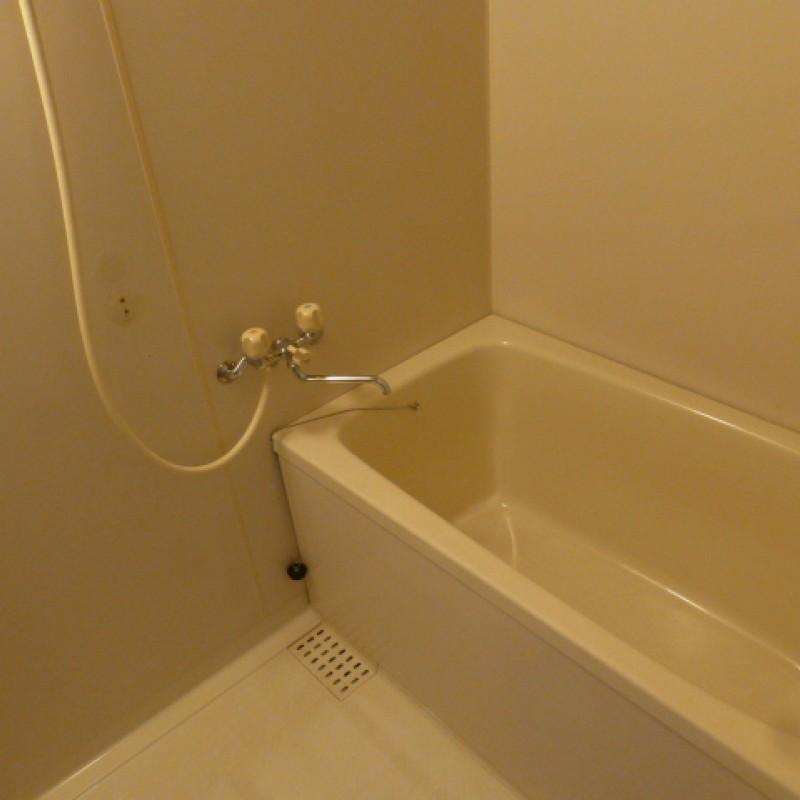快適なシャワー付き