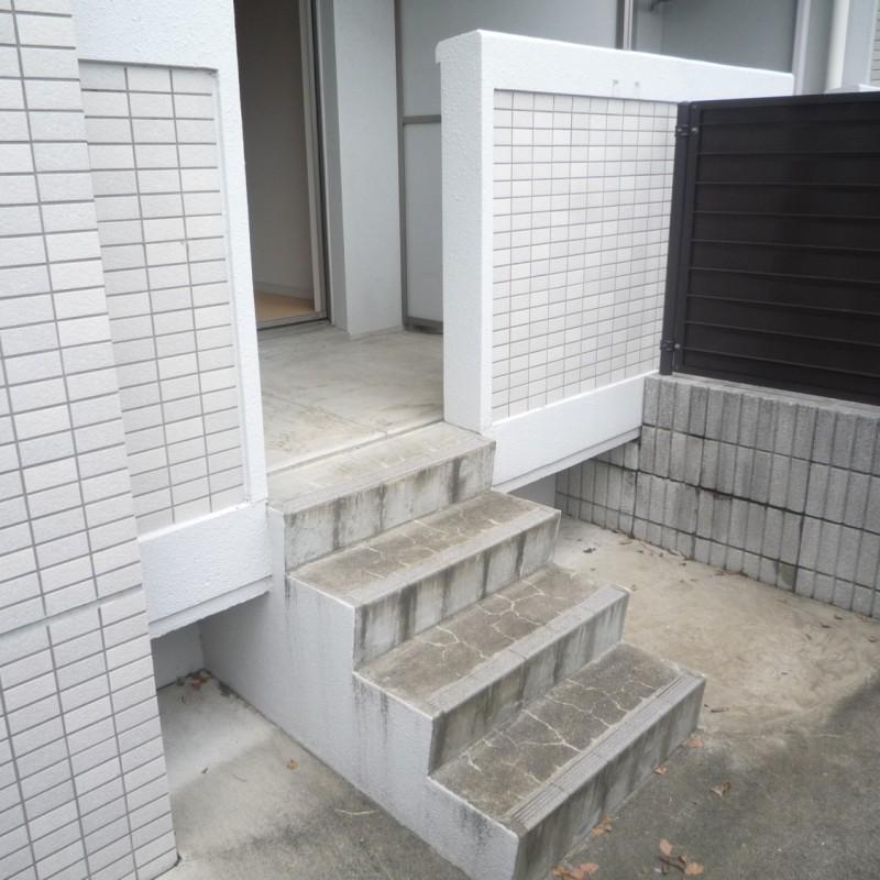 ベランダ→専用庭