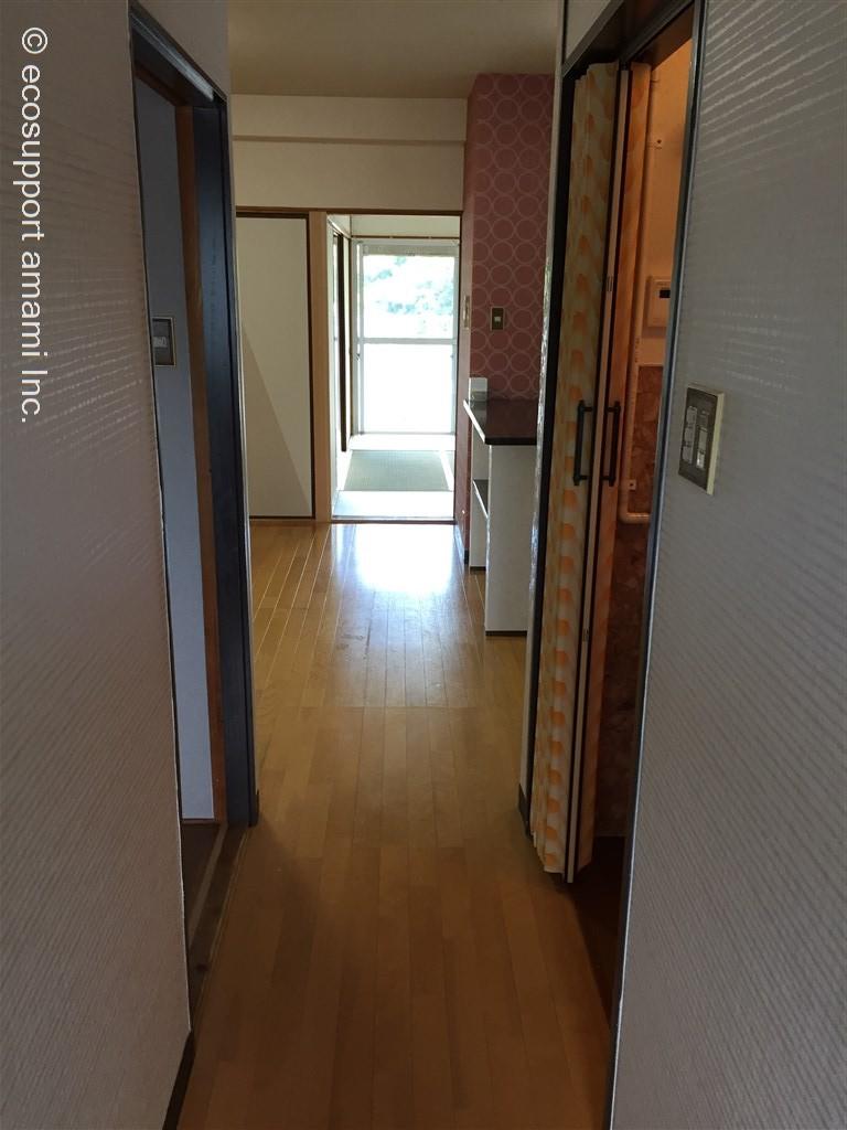 玄関から室内へ