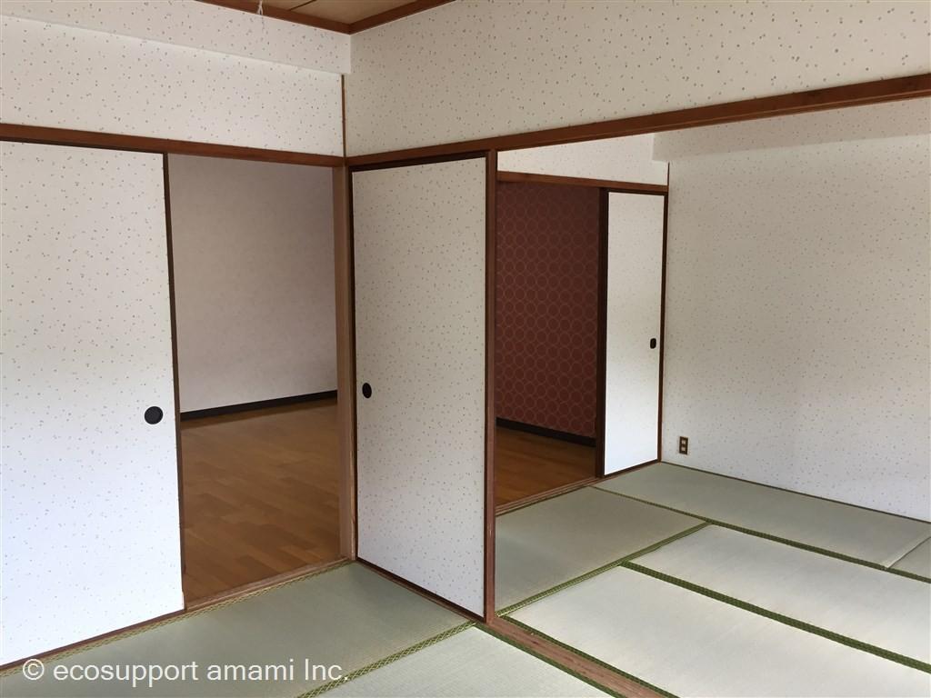和室→リビング側