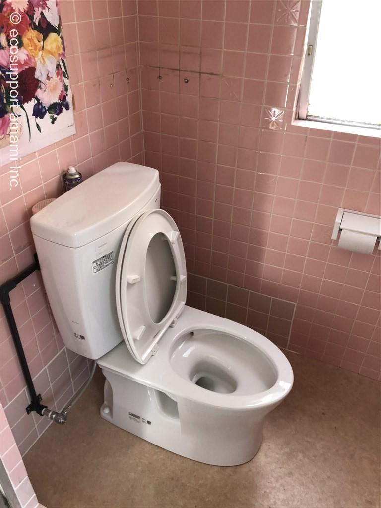 トイレは2F共用トイレになります。