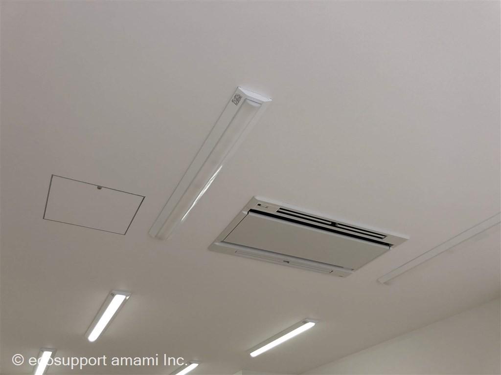電気、空調設備