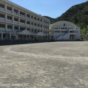 名瀬中学校