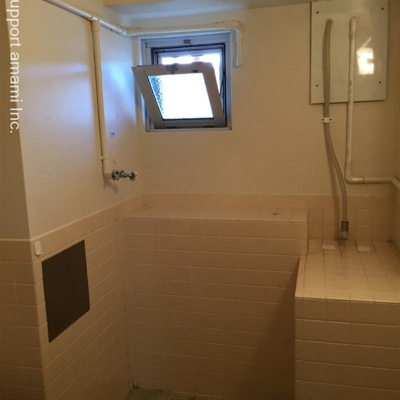洗濯機置場は浴室内になります