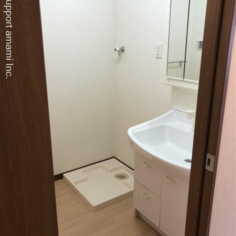 独立洗面所、室内洗濯機置場
