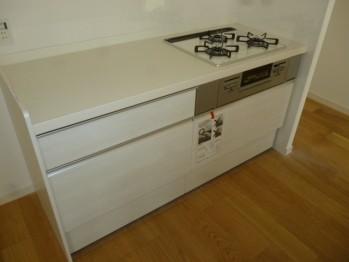 調理スペースも広々使えます