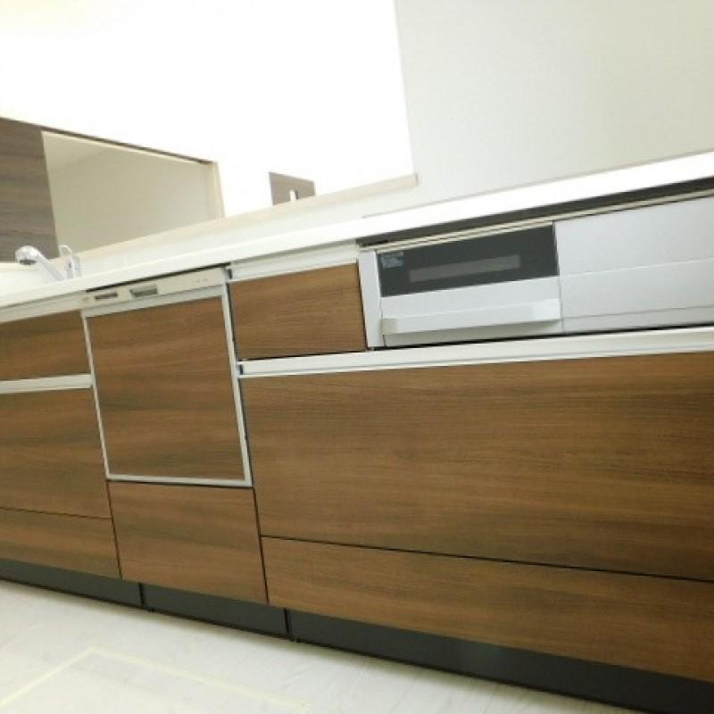 食洗器は標準装備だゼット