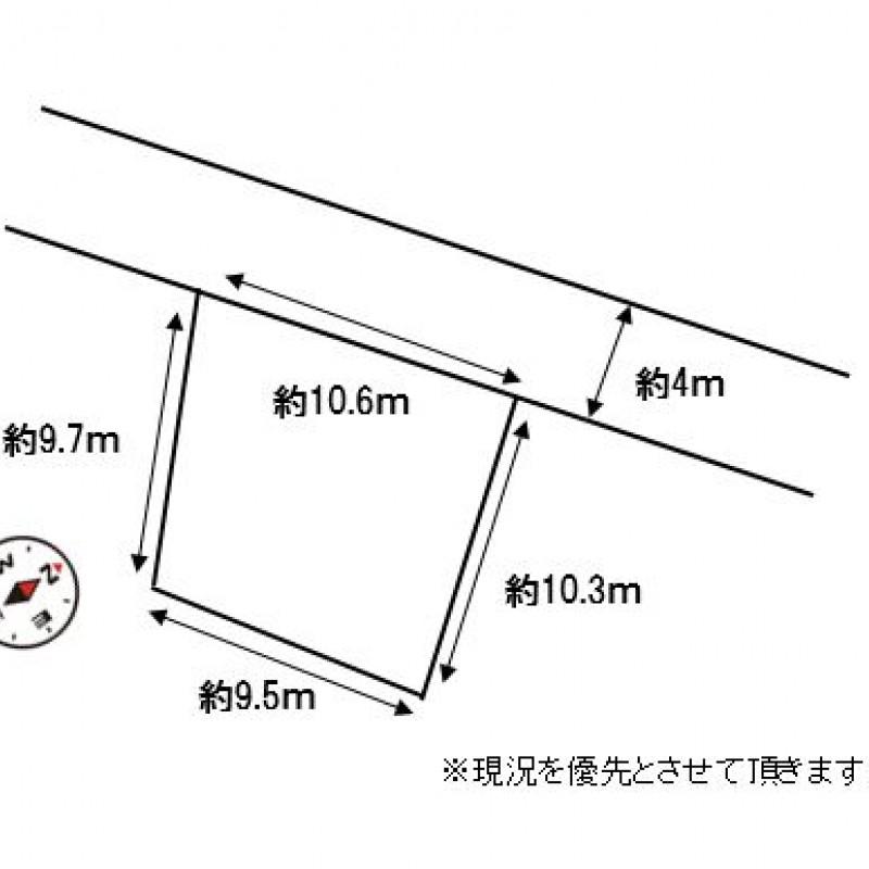 土地価格1190万円、土地面積101.64m2