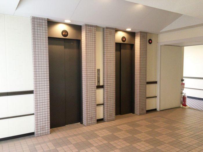 エレベーター二機あります☆