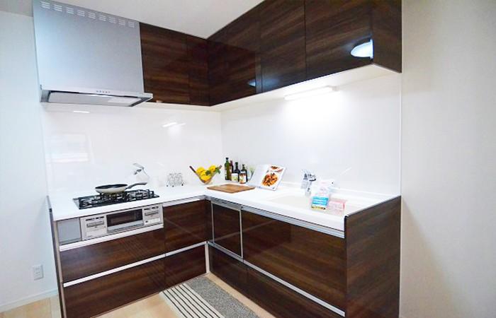 お料理はかどるL字型キッチン♪食洗機つきです☆