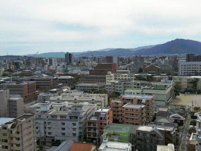 14階からの開放的な眺望です☆