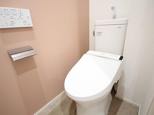 ウォシュレットつきトイレで快適です☆