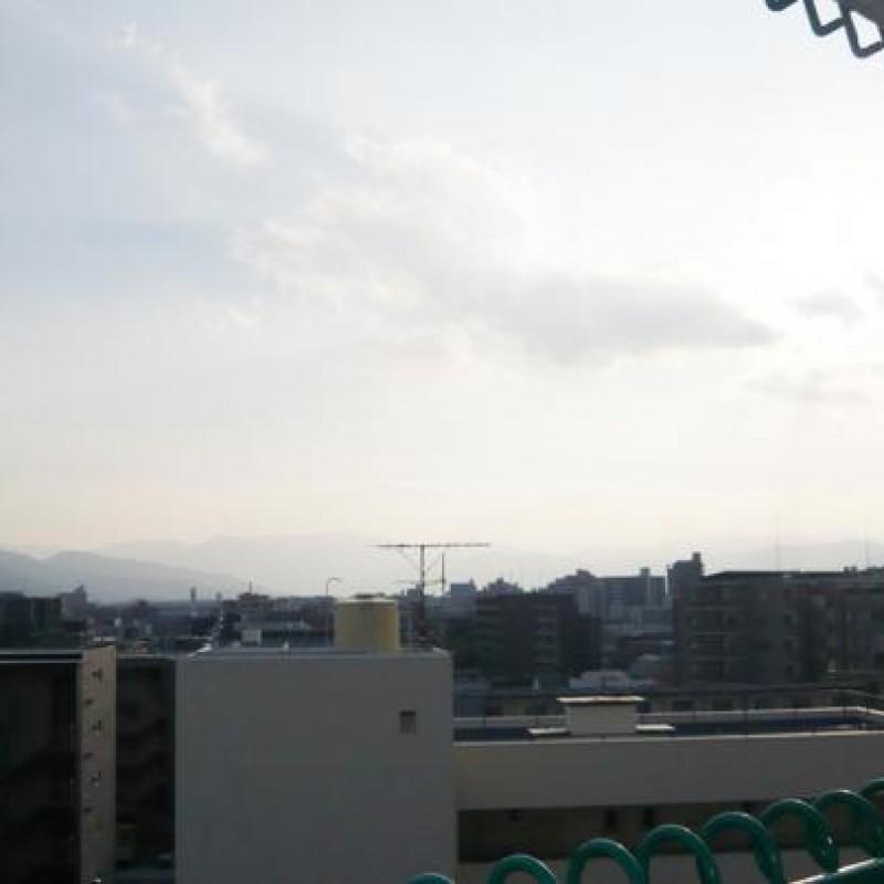 上層階のため、開放的な眺望です♪