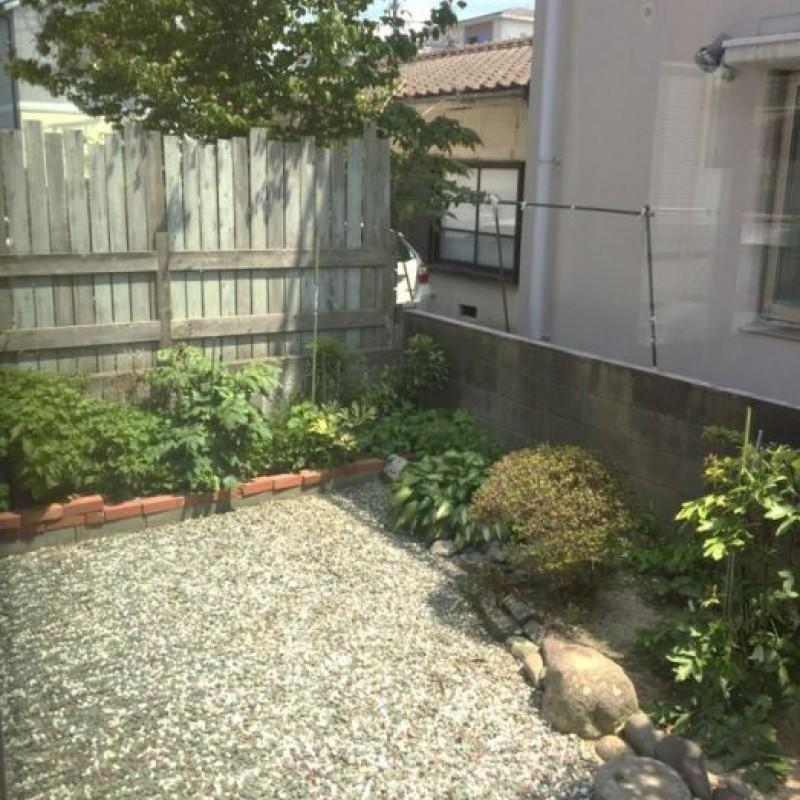 庭付きの戸建てです♪