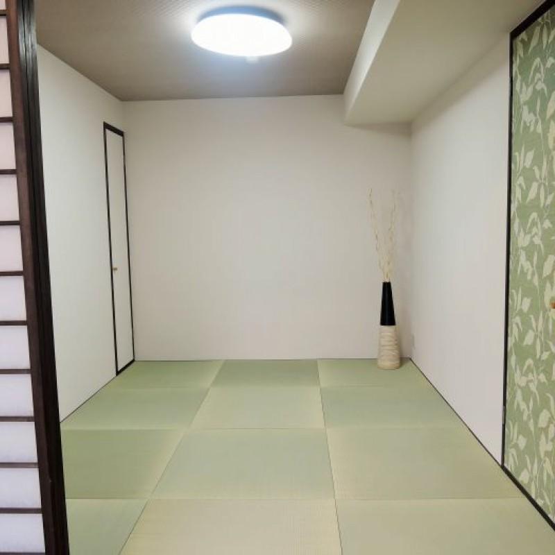 和室は琉球畳でモダンな雰囲気です♪