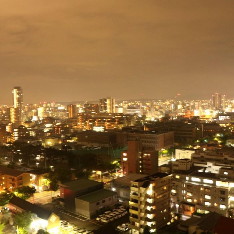 タワーマンションの夜景♪
