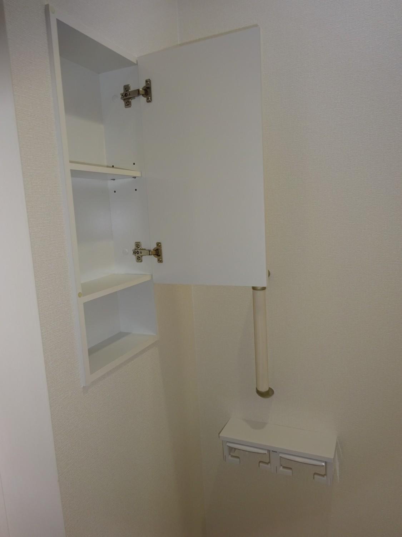 2階トイレ 手摺り・収納