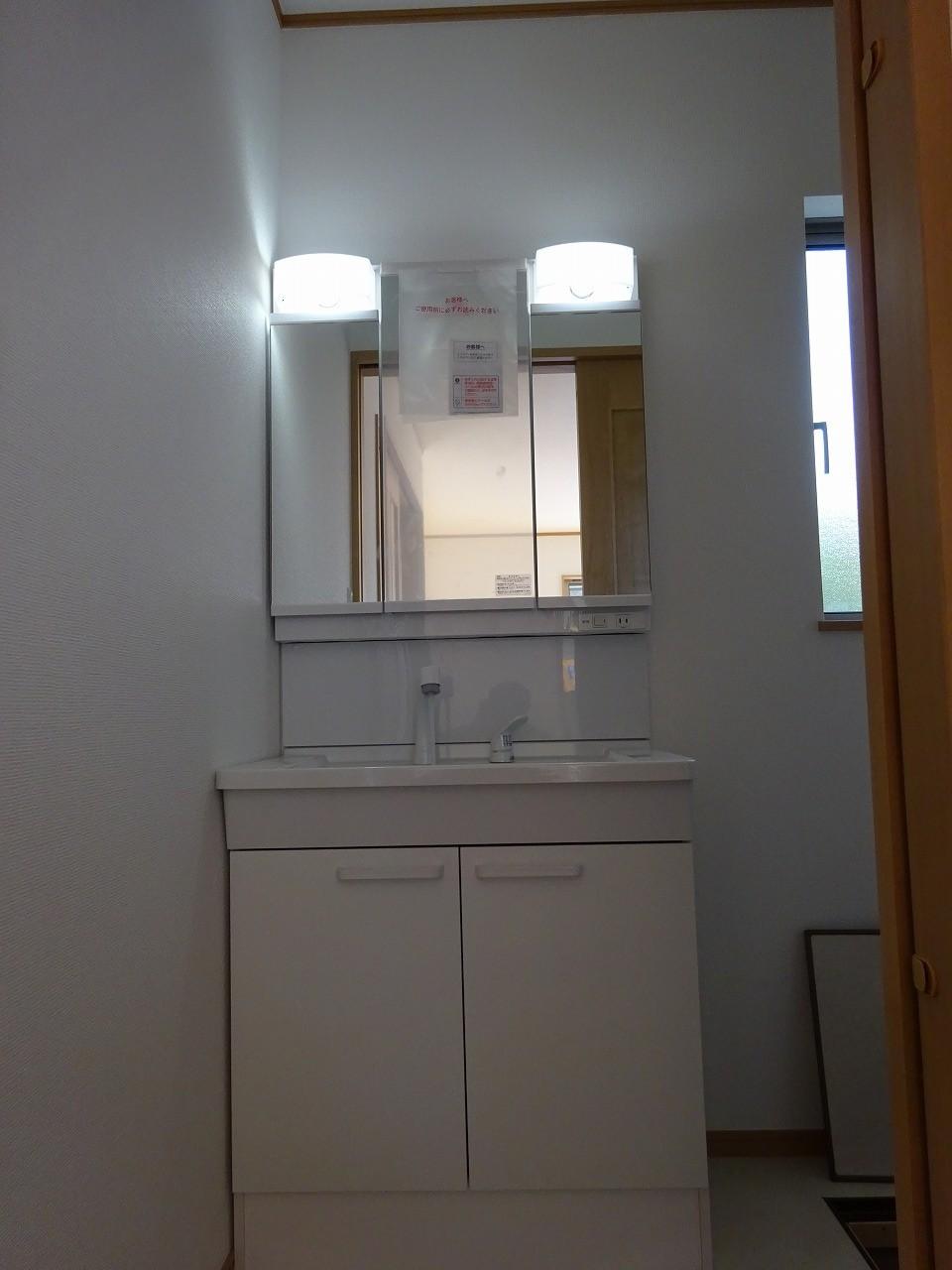 三面鏡収納ドレッサー