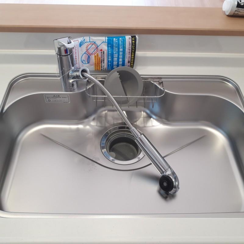 浄水器つき水栓