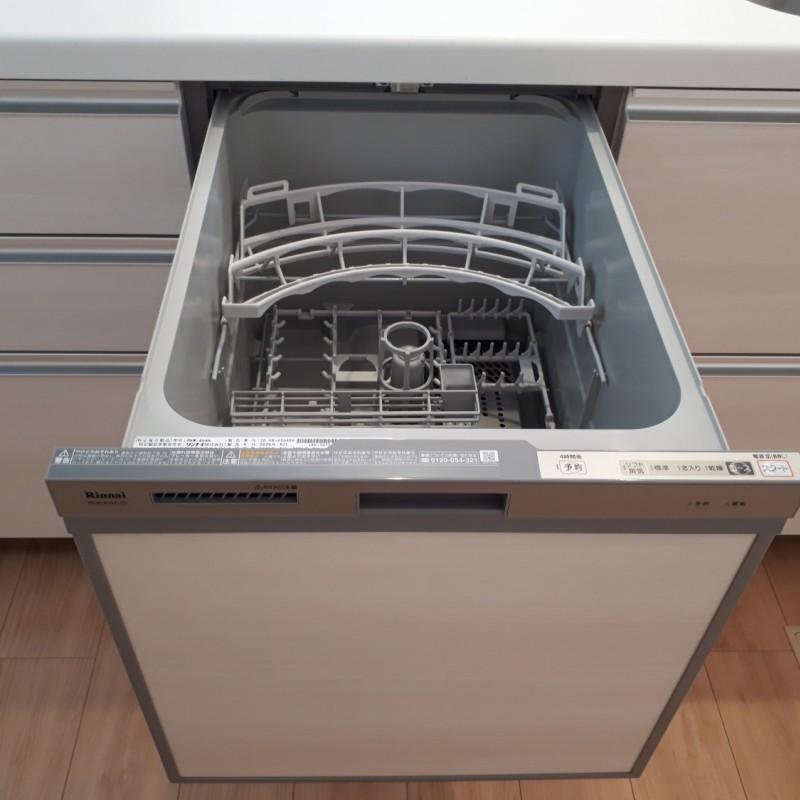 スライドオープン式食洗機
